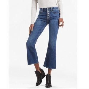 Lucky Brand Bridgette Crop Flare Jean Size 10